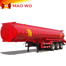 Carbon Steel 3 Axles 40000L Diesel Tank Trailer